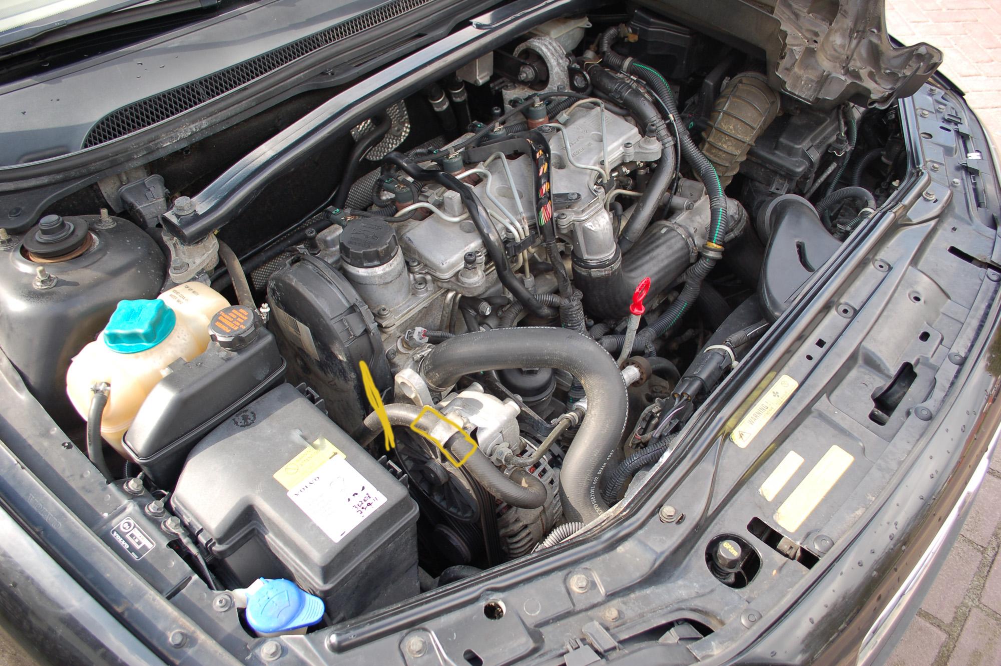 Olielekkage Ergens Bij Multiriem Volvo Forumnl